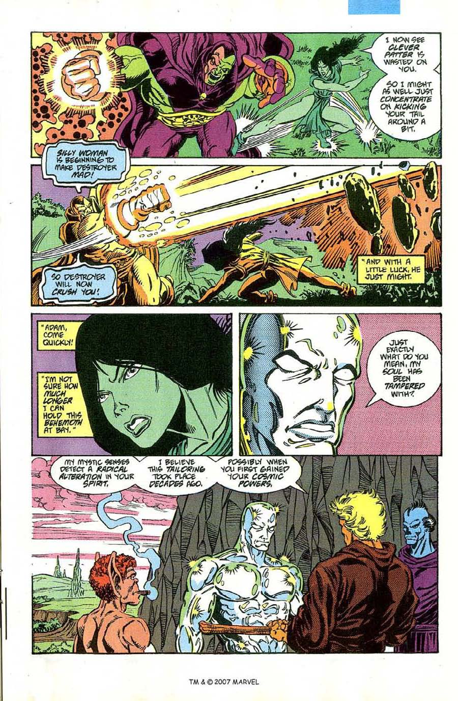 Read online Silver Surfer (1987) comic -  Issue #46 - 27