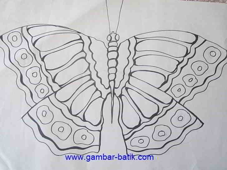 """Motif Batik Tulis Mudah """"Sketsa Batik"""" - Gambar Batik"""