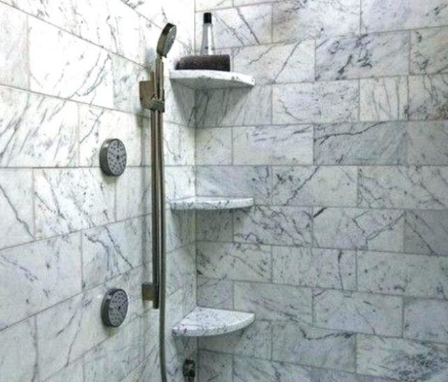 Model tempat sabun dan sampo kamar mandi minimalis sederhana