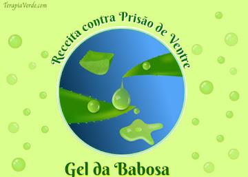 Receita contra prisão de ventre: Gel da Babosa