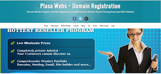 web hosting template blogger