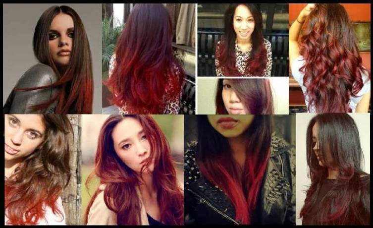 Spring Summer 2014 IT Look, Hair Color, Hair Cut, Style Trends, Red Ombre