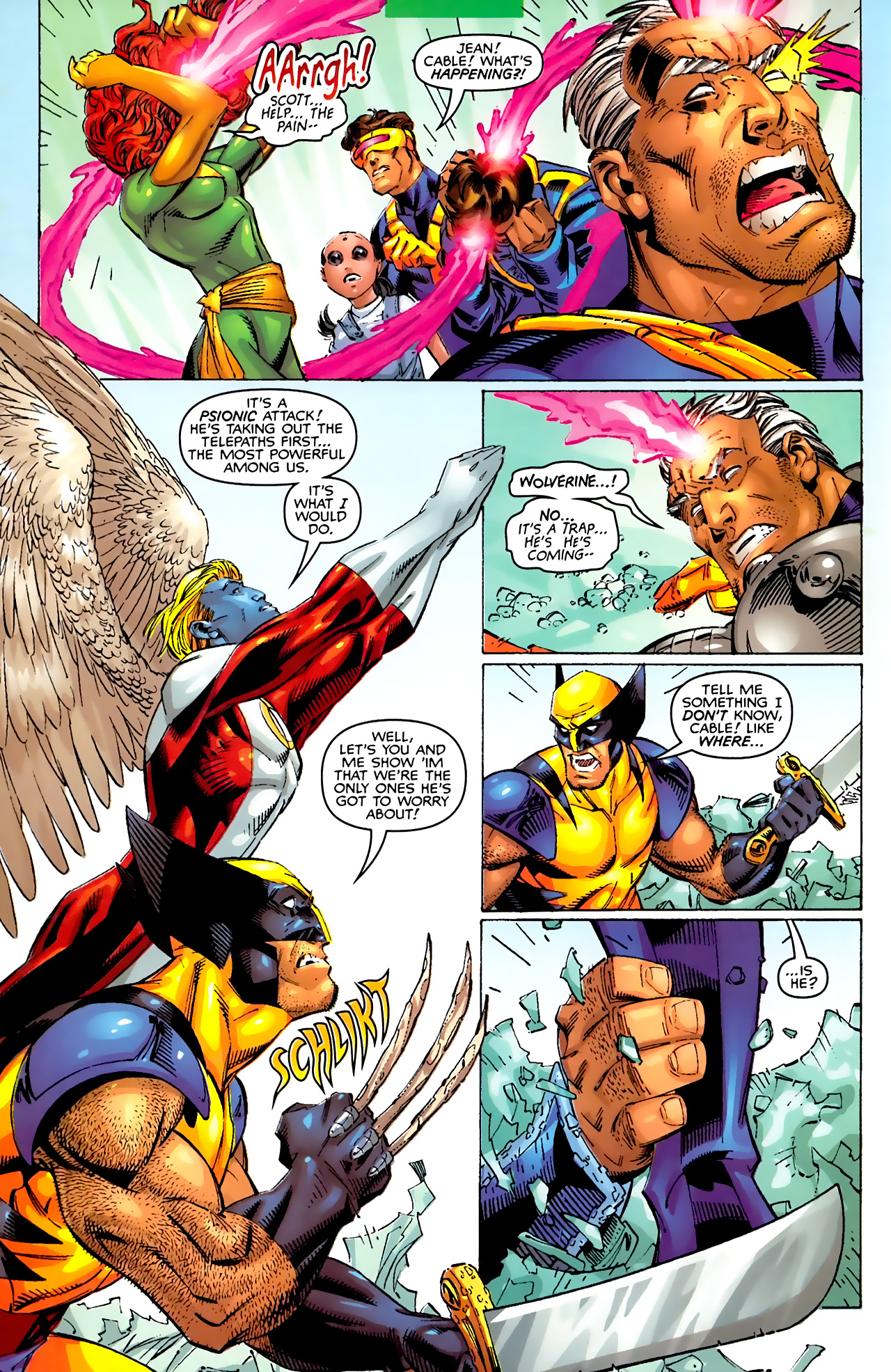 Read online Astonishing X-Men (1999) comic -  Issue #3 - 11
