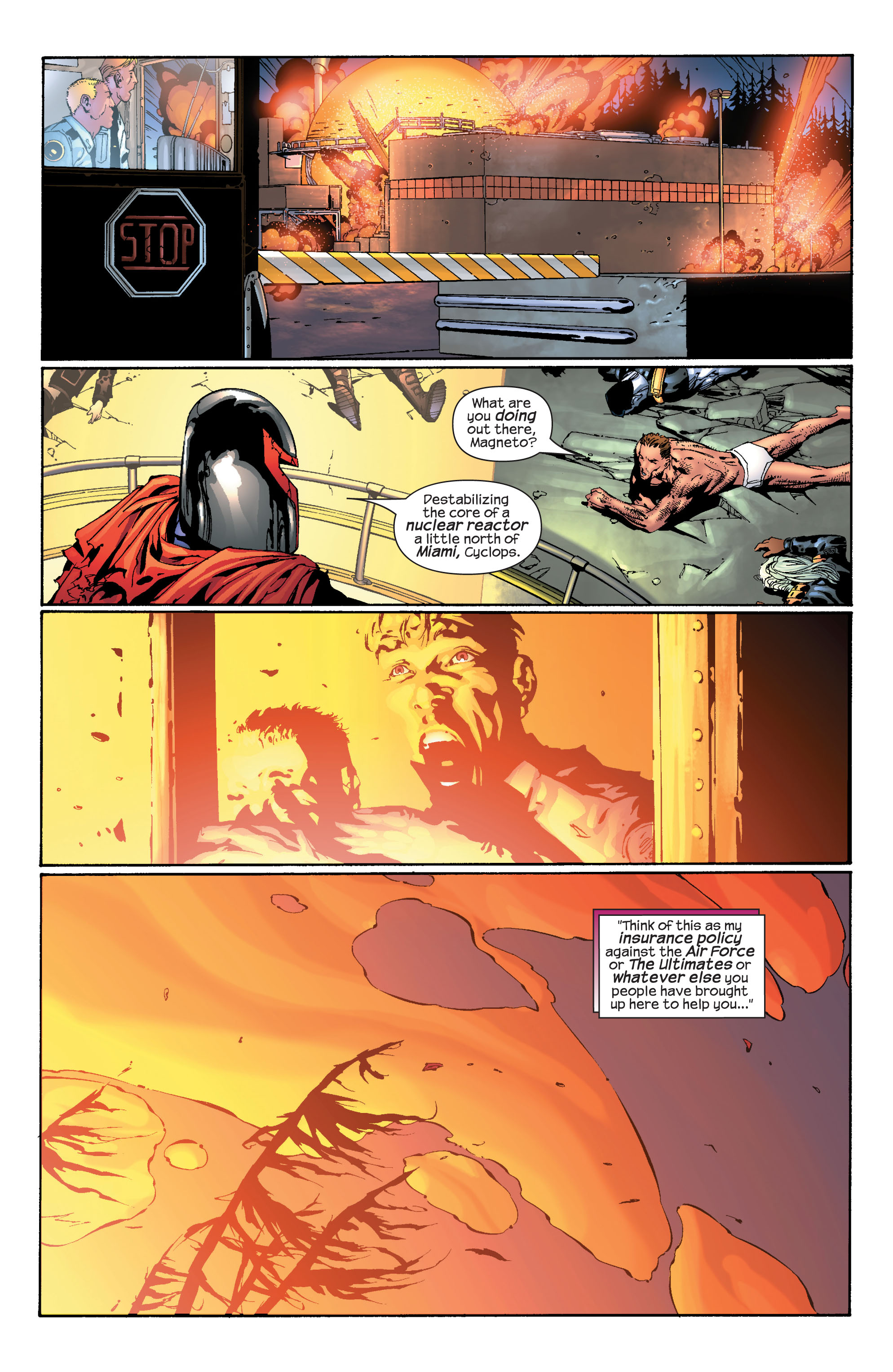 Read online Ultimate X-Men comic -  Issue #30 - 22