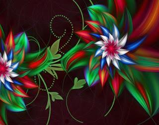 Gambar DP Bunga 3D Indah Wallpaper HD