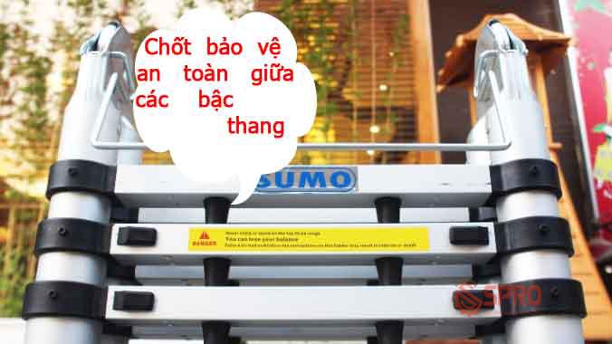 Chốt bảo vệ an toàn của thang nhôm SUMO ADT-806B