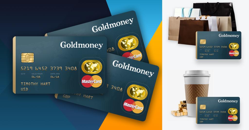 Goldmoney Mastercard