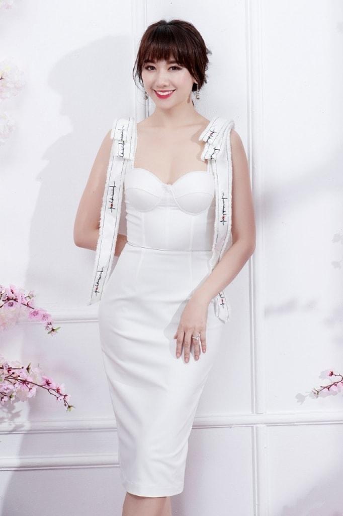 Hari Won khoe dáng với phong cách thanh lịch, nữ tính -5