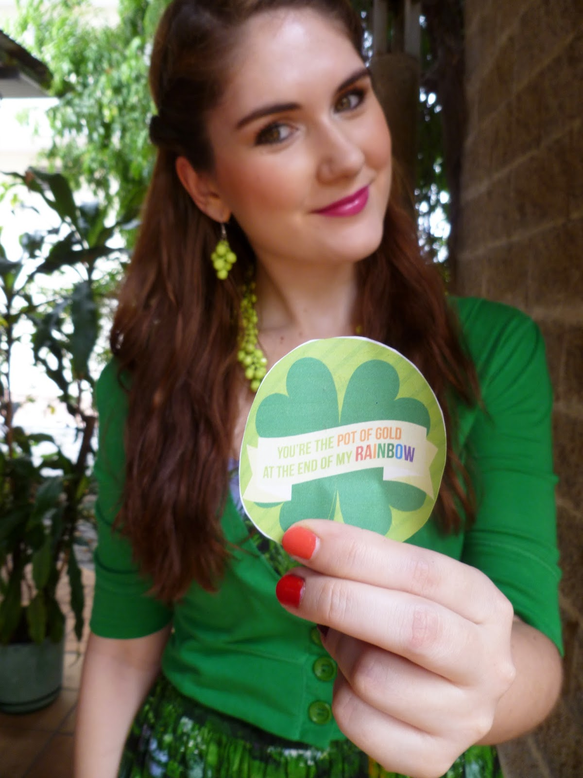 st. patricks day, patricks day fashion, rainbow challenge, daily outfits blog