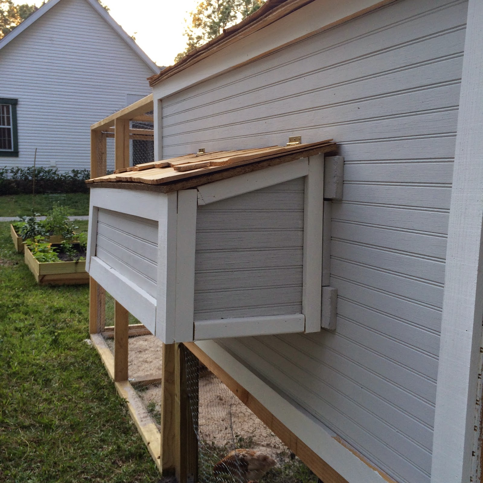 Bodem Kippenren Fabulously Vintage I Built A Chicken Coop And I Want To
