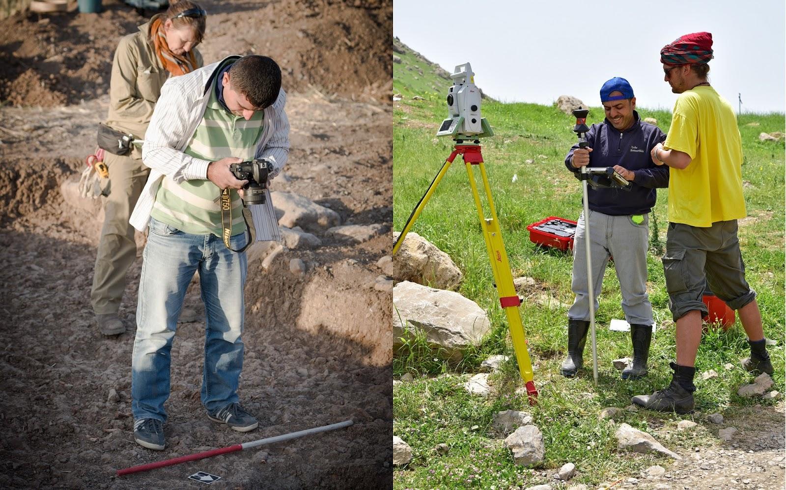 Εκπαιδευόμενοι αρχαιολόγοι στο Ιράκ. Φωτογραφία: British Museum