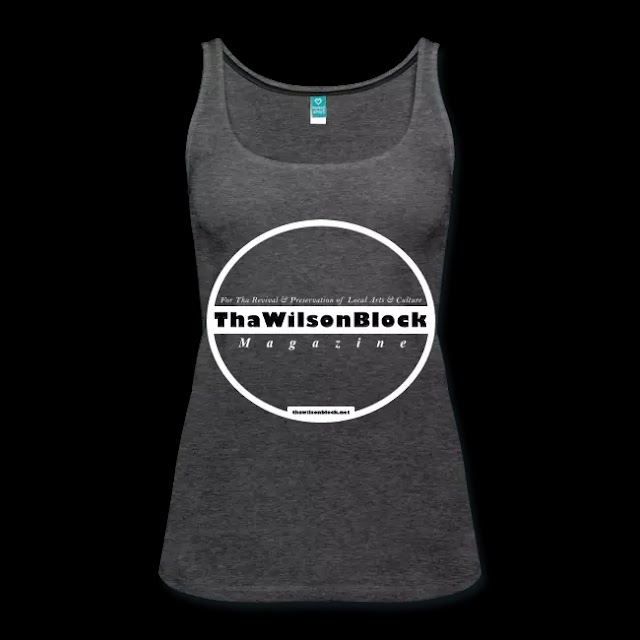 ThaWilsonBlock Magazine Women's Premium Tank Top (Charcoal, Navy, Purple, Red, Black) Any Size / Same Price
