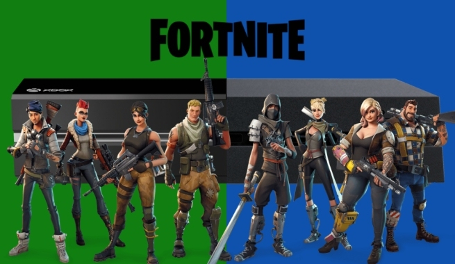 Fortnite ha tenido momentáneamente cross-play entre plataformas