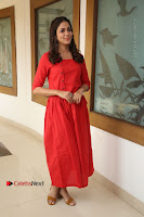 Actress Lavanya Tripathi Latest Pos in Red Dress at Radha Movie Success Meet .COM 0190.JPG