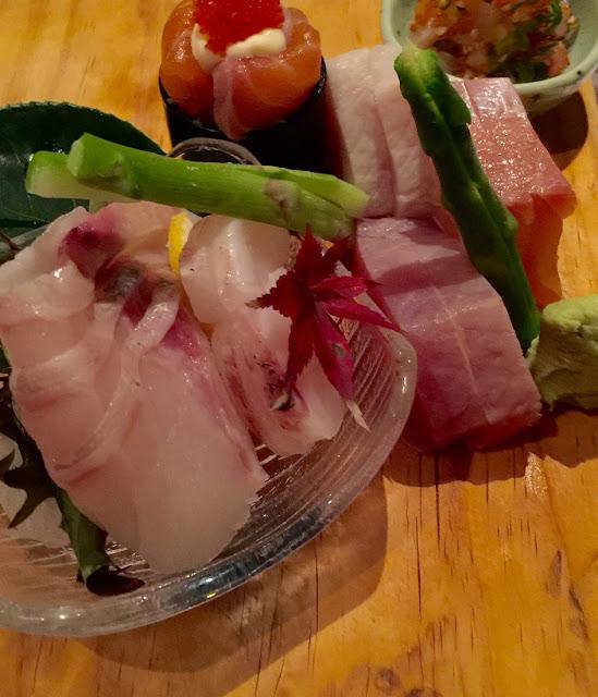 Yokoyama, sashimi