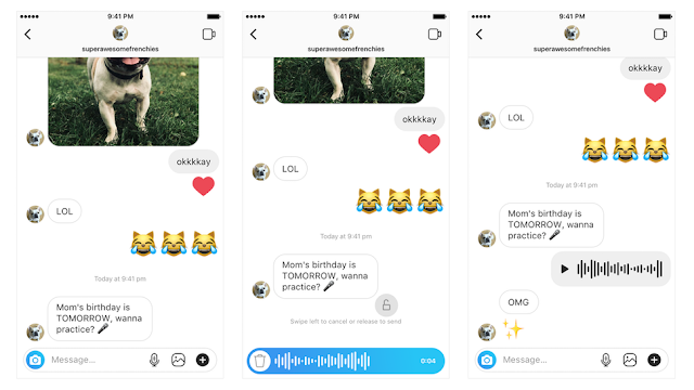 mobile, tech, tech news, news, Social networking, connect with friends, video calls, Instagram, messages, voice messages, How to, new voice messaging feature in Instagram, new voice messaging feature,