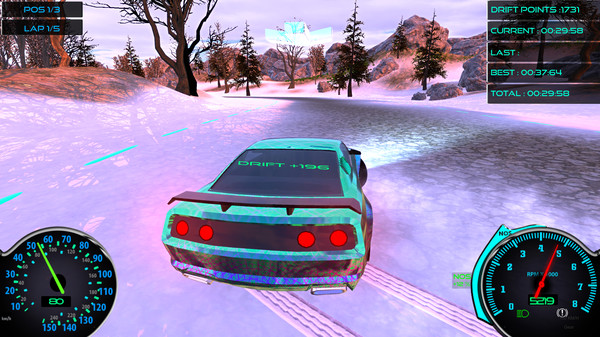 Frozen Drift Race PC Game