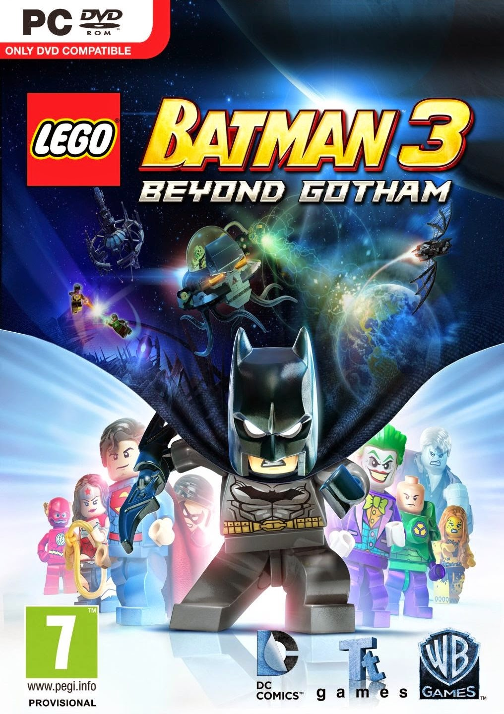 LEGO Batman 3 Beyond Gotham PC Cover Caratula