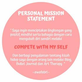 Personal Mission Development ewafebri