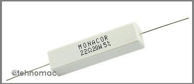 resistor 22 ohm 20 watt