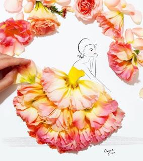 çiçekli elbise modelleri