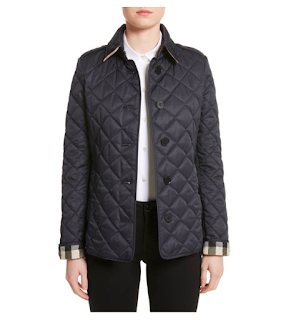 The Quilted Jacket — 5 pieces of outerwear to add to your work wardrobe to conquer the elements, which what to wear to work when it's snowing and what to wear to work when it's raining. How to start building a professional wardrobe. What coats and jackets you really need for work. professional coats. work jackets. law school blog. law student blogger | brazenandbrunette.com