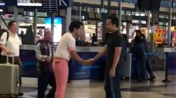 Abah Aku Tak Tahu Tengah Berlakon  Anak Mohon Maaf Pasal Kejadian Tepuk Di Airport, Ini Respons Win Shukri Yahaya