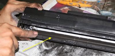 Langkah Membersihkan Magnet Developing pada Mesin Fotocopy