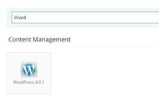 Pilih WordPress Di Idhostinger
