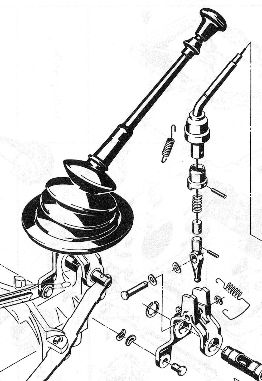 Opel manta bellows style gear lever gaiter