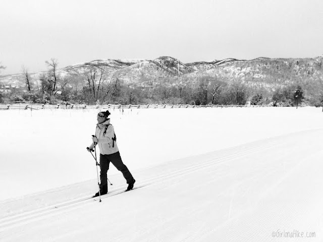 Cross Country Skiing at Wasatch Mountain State Park