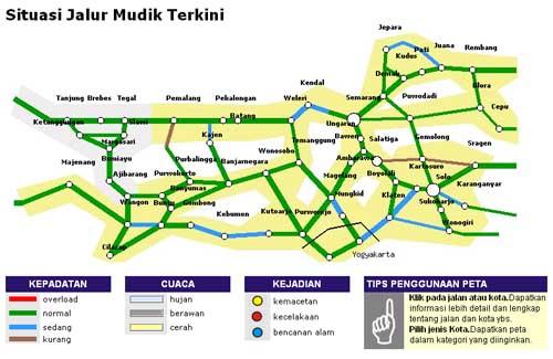 peta mudik 2011