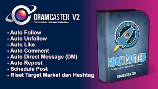 Gramcaster - Cara Mudah Dapatkan 1000 Follower Instagram & Tingkatkan Omzet