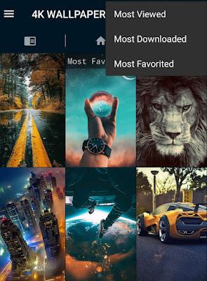 4K Wallpapers app