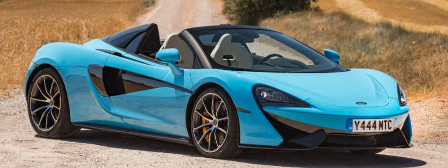Magnificent Vehicles Mclaren 570s Spider