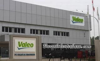 Lowongan Kerja Terbaru di Purwakarta : PT Valeo AC Indonesia - Operator
