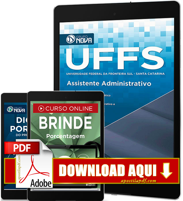 Apostila UFFS 2016 PDF Download Assistente em Administração PDF