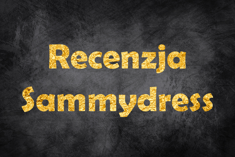 Sammydress Review I