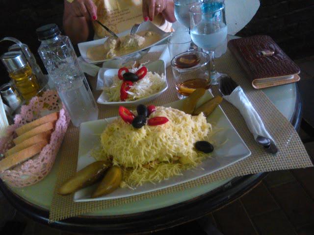 Cuib de randunica - restaurant Casa Romaneasca (P.Nt.)