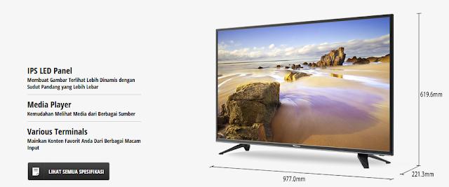 Memilih TV Panasonic Sebagai Merk Televisi Yang Awet dan Tahan Lama
