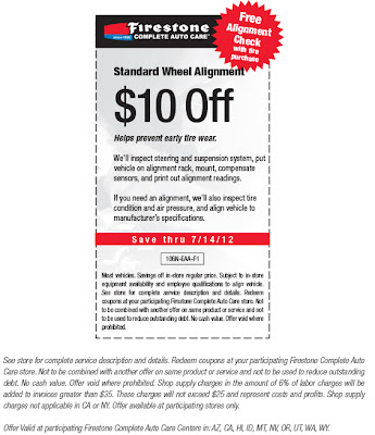Firestone Wheel Alignment Coupon 2018 Oh Baby Fitness Coupon Code