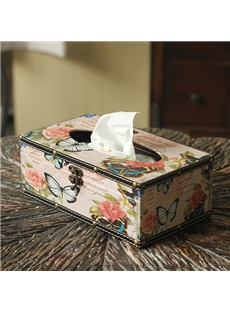 Butterfly Tissue Paper Box