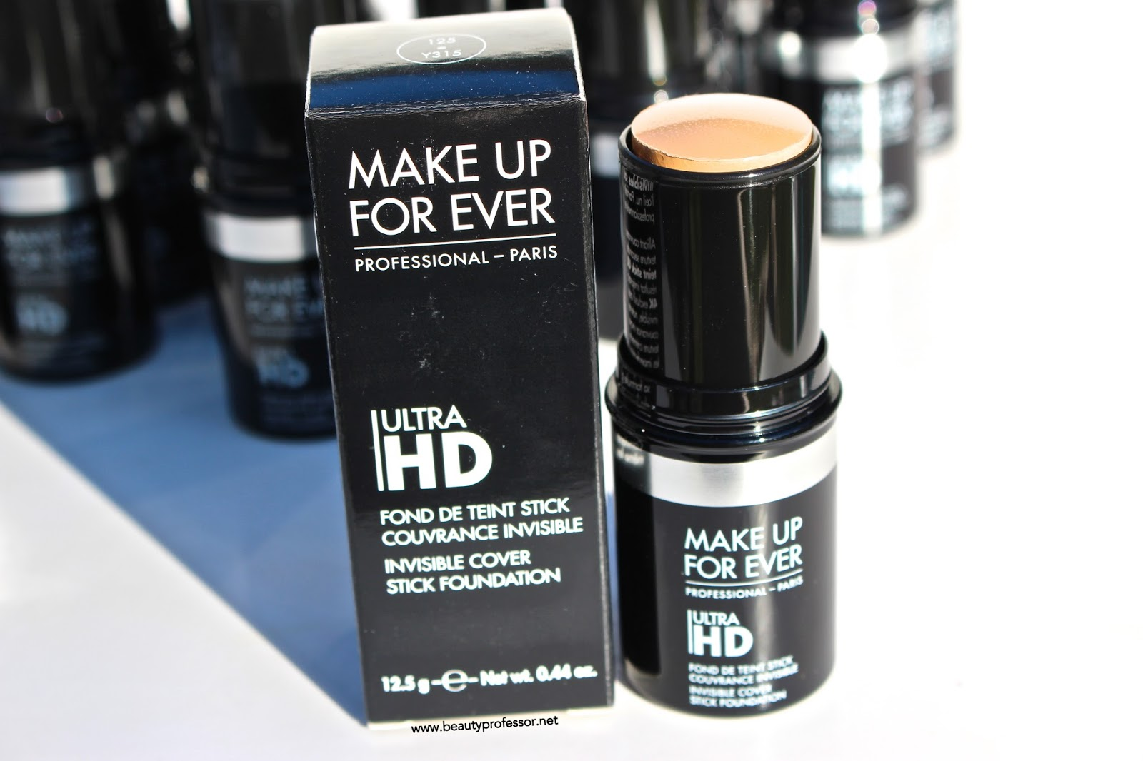 Make Up Forever Ultra Hd Foundation Stick Swatches