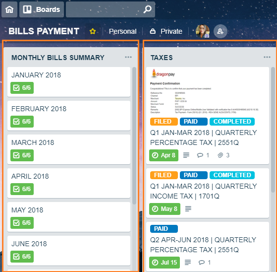 TRELLO: The System I Use to Manage & Organize my Bills