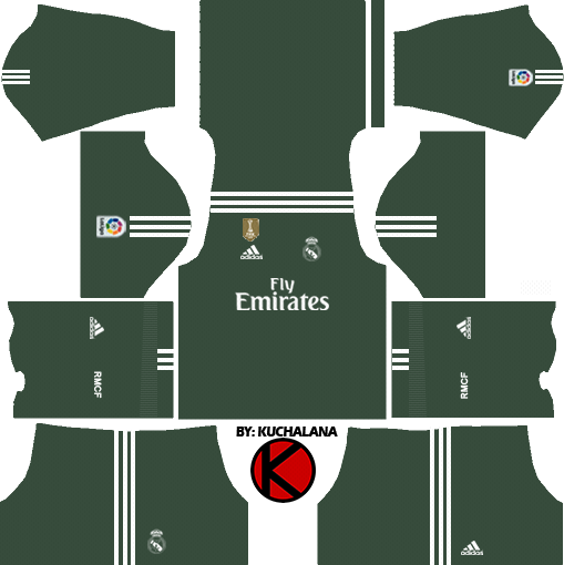 1bc08453b Real Madrid Kits 2017/2018 - Dream League Soccer 2017 and FTS15 ...