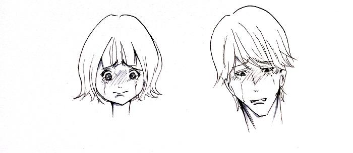 Cara menggambar berbagai ekspresi wajah manga MAYAGAMI