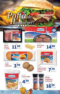 CATALOG LIDL 21 - 27 ianuarie 2019 promotii burgeri americani