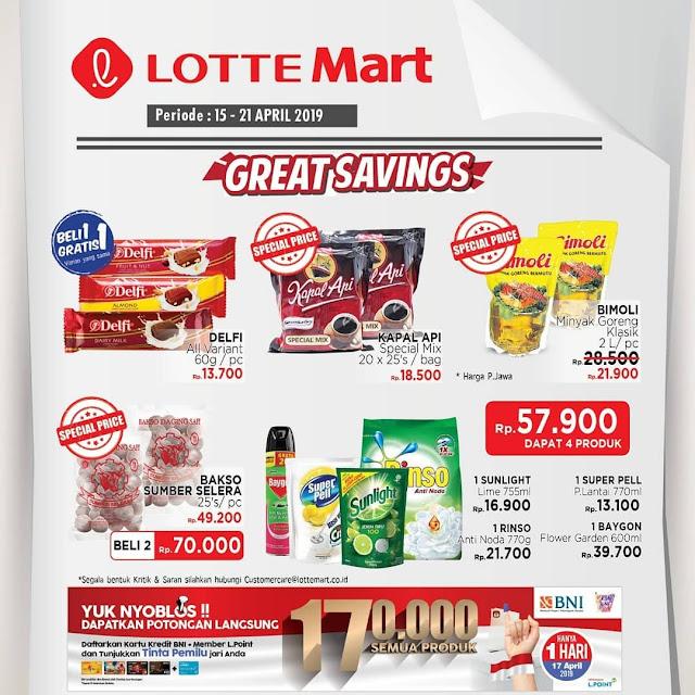 #LotteMart - #Promo #Katalog JSM Periode 15 - 21 April 2019