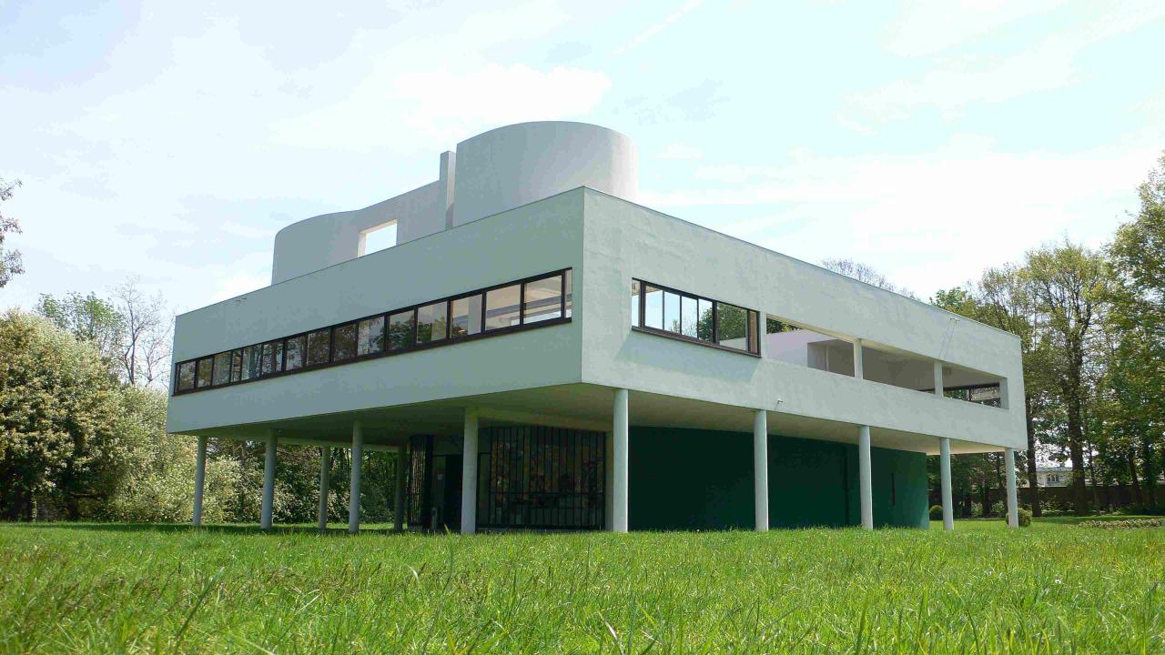 Im genes de las obras m s emblem ticas de le corbusier for Art house building design