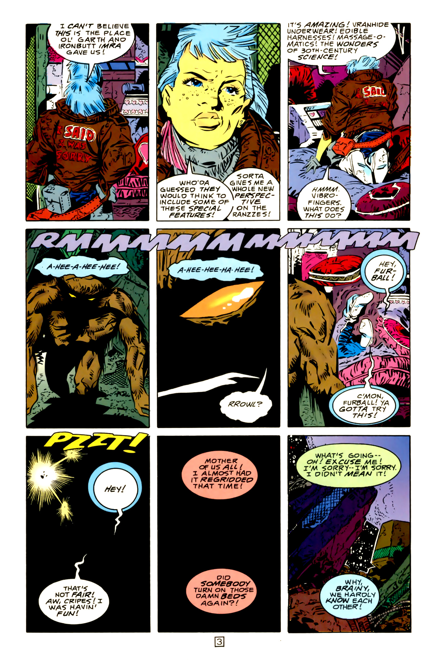 Legion of Super-Heroes (1989) 15 Page 3